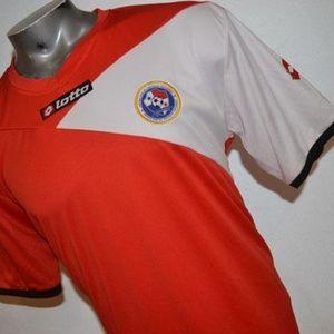 7893 Mens Lotto Soccer Futbol Jersey Size 2XL